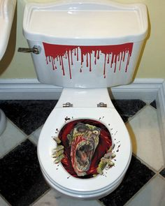 Halloween Toilet Grabber