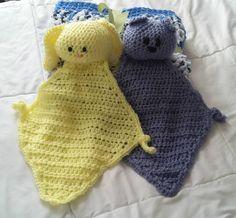 Bunny and Bear Lovies Knitted Hats, Crochet Hats, Shrimp Avocado, Bunny And Bear, Knitting, Baby, Color, Knitting Hats, Tricot