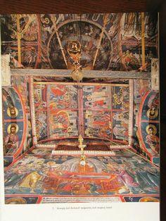Teofan Cretanul – icoana Church Interior, Byzantine Icons, Art Icon, Ikon, Bohemian Rug, Religion, Scene, Interiors, Painting