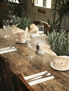 Commercial restaurant - table setting detail. | Restaurants & Bars ...
