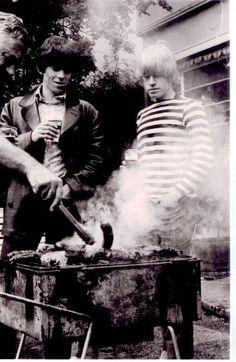 Keith Richards and Brian Jones