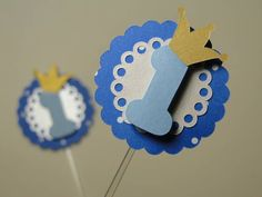 Pin / Topper para decoração de docinhos e cupcakes.