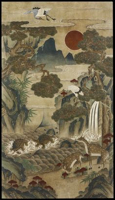 Ten Longevity Symbols | Unknown | 19th century | Korea