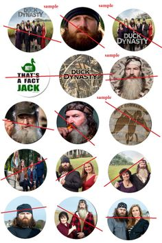 duck dynasty 4x6 instant download images by SmokyMountainWood, $1.99