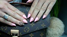 Beautiful nails 2016, Beautiful summer nails, Blue nail art, Bright summer nails, brilliant nails, Evening dress nails, Fashion nails 2016, Gentle half moon nails