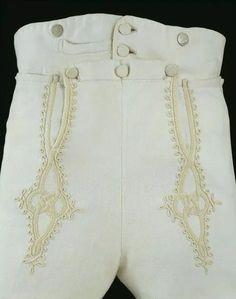 regency men's fashion 1806 (Dress breeches worn by Lord Birkingham) Regency Dress, Regency Era, Jane Austen, Vintage Outfits, Vintage Fashion, Period Outfit, Gaucho, Mode Vintage, Looks Vintage