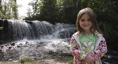 Raleigh Falls in Ignace Ontario