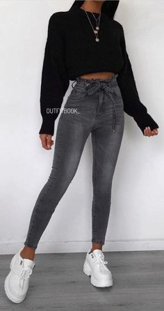 Fashion women jeans cargo pants for men bell bottom jeans for women best jeans with high . - Fashion women jeans cargo pants for men bell bottom jeans for women best jeans with high waist, - Teenage Outfits, Winter Fashion Outfits, Look Fashion, Fashion Women, Jeans Fashion, Summer Outfits, Outfits For Concerts, Autumn Outfits For Teen Girls, Fashion Design