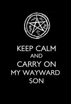 ~Keep calm and Supernatural!~ - supernatural Fan Art