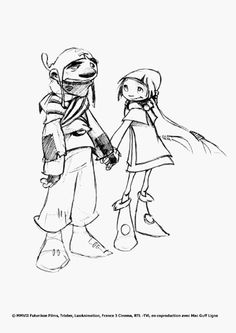 Gwizdo and Zoe. I love how Gwizdo said that he hated Zoe, but actually really cared for her. :)