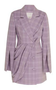Plymouth Blazer Dress by ACLER for Preorder on Moda Operandi Casual Blazer, Blazer Outfits, Blazer Dress, Kpop Outfits, Cute Outfits, Fashion Outfits, Blazer Fashion, Fashion 2017, Dress Outfits