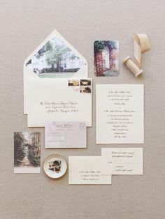elegant estate wedding invitations   image via: southern weddings
