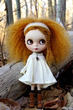Blythe - I want a Blythe doll with hair just like this!