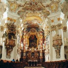 """Wallfahrtskirche """"Die Wies"""" ©Tourismusverband Pfaffenwinkel"""