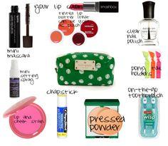 Back to School: Make up Bag