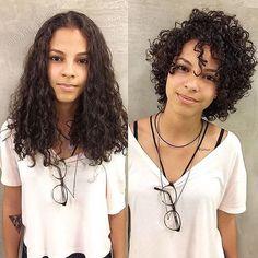 Short-Layered-Curly-Hair-Women Best Short Curly Hair Ideas in 2019 Haircuts For Curly Hair, Curly Hair Cuts, Short Hairstyles For Women, Pretty Hairstyles, Short Hair Cuts, Curly Hair Styles, Natural Hair Styles, Wedding Hairstyles, Ladies Hairstyles