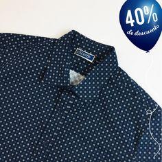Pierre Cardin Camisa Manga Corta Cuadros Grandes para Hombre Caballeros cotidianos ligero
