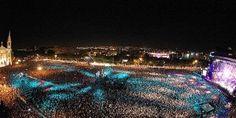 La folla al concerto Isle of MTV a Malta