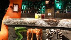 Rainforest Cafe brings the Amazon Rainforest to life with animatronics, tropical fish tanks, waterfalls etc in the heart of London's West End.  Perfect for lunch or dinner for kids and big kids alike.