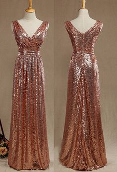 Handmade Sequined Bridesmaid Wedding Party Dress Made to Order - Dress - Hochzeit Fairy Wedding Dress, Sheath Wedding Gown, Wedding Party Dresses, Bridesmaid Dresses 2017, Prom Dresses, Rose Gold Bridesmaid, Golden Dress, Plus Size Wedding, Dress Making