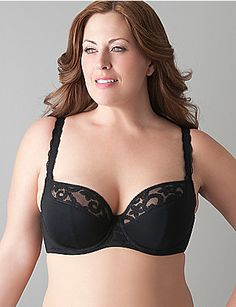 9287a12dd1614 Embroidered French full coverage bra by Cacique