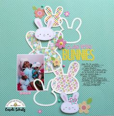 Doodlebug Design Inc Blog: NEW Easter Express Cut Files Release with Bunnies Layout by Caroli