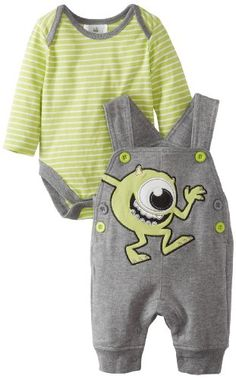 Disney Baby Baby-Boys Newborn 2 Piece Overall Set, Grey/Green, 3-6 Months Disney,http://www.amazon.com/dp/B00DS3G9QU/ref=cm_sw_r_pi_dp_hzNEsb0V2DRWN129