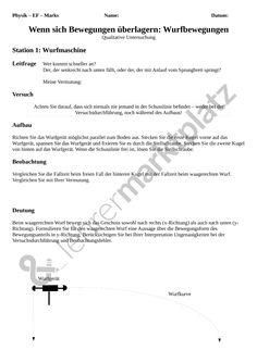 unterrichtsprojekt gef hrliche physik physik physik unterrichtsmaterialien physik. Black Bedroom Furniture Sets. Home Design Ideas