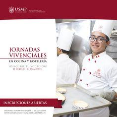 #IngresoIACG | Comprueba que tu vocación es la #gastronomía en las jornadas vivenciales organizadas por el Instituto de Alta Cocina y Gastronomía USMP.