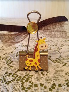Giraffe Binder Clip