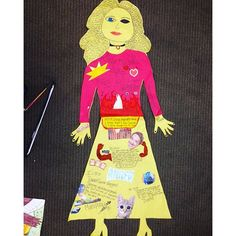 FREE DOWNLOAD! Life Size Body Biography: Character Analysis CCSS ELA-Literacy 4-12 -Shown here -Lady Macbeth body biography - any group that ever picks her for this task creates a masterpiece.