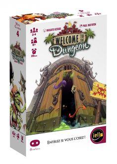 Welcome to the Dungeon - Photos & Vidéos (4) - Un jeu de Masato Uesugi - Jeu de société - Tric Trac