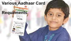 Various Aadhar Card Requirement  #aadharrequirment, #uidneed #aadhaarimportance