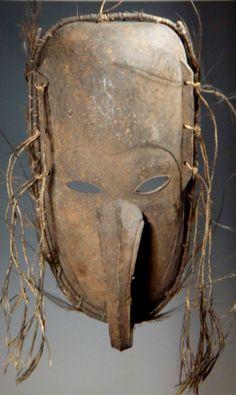 Lower Sepik Long Nose Mask Papua New Guinea