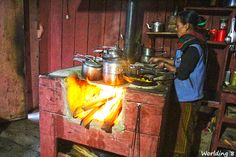 cooking nepalí food (Annapurnas trekking) #NEpal