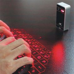 Mini Laser Wireless Bluetooth Keyboards for Smartphone,Tablets