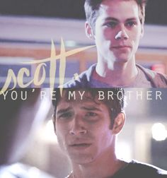 Teen Wolf - Stiles And Scott me and my best friend are just like Scott and stiles:)