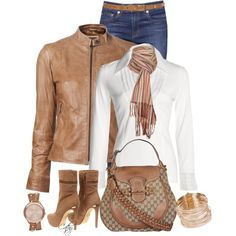 """""""Jeans Day at Work"""" by revccc on Polyvore"""