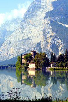 Castel #Toblino, Italy • Trentino - Alto Adige Calavino - Not far from #CantinaToblino