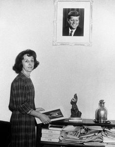 Personal Secretary to the President Evelyn Lincoln