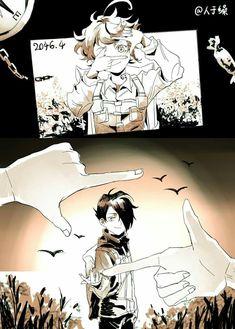 The Promised Neverland Anime Zone, Bubbline, Yandere, Neverland, Doujinshi, Anime Couples, Manga Anime, Cool Art, Illustration Art