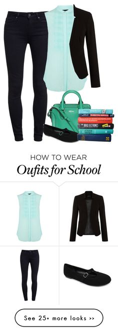 """""""First Day of School"""" by cloudybooks on Polyvore"""
