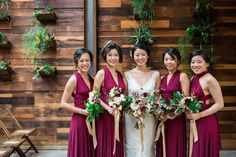 Brooklyn Winery's Atrium is perfect for photos with the wedding party.