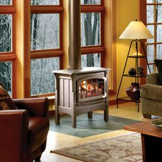 freestanding direct vent gas stoves - Google Search