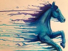 2017 trend Watercolor tattoo - Horse 2 by mariana-a on deviantART