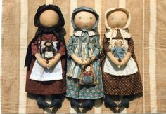 Early Style Settler Dolls Pattern