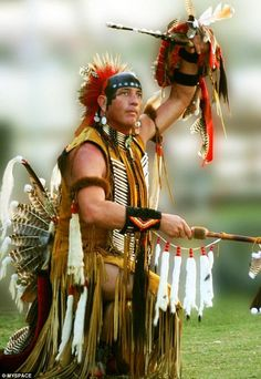 Tribal calling: Ed Winddancer, 55, from Florida, has caused outrage among the Native American community who declared him a fraud and his practices 'dangerous'