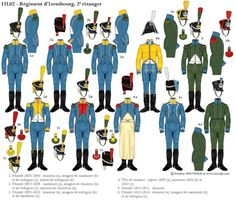 les uniformes des Régiments prestigieux de l' Empire - Page 2
