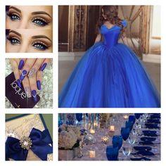 Blue Theme Color | Quinceanera Ideas |