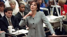 "6/13/16 - Marcia Clark explains domestic violence bias in the O.J. Simpson trial. Prosecutor Marcia Clark makes her closing arguments during the O.J. Simpson double-murder trial in Los Angeles in 1995. ""The truth was, this was a domestic violence killing. Classic. So common."" VIDEO AND ARTICLE: http://espn.go.com/espnw/voices/article/16174526/prosecutor-marcia-clark-role-domestic-violence-played-oj-simpson-trial"